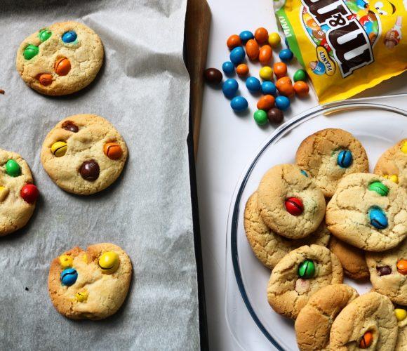 Mes cookies aux M&M's !