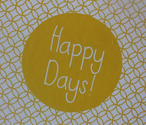 J'ai testé pour vous album photo personnalisable «Happy Days!»