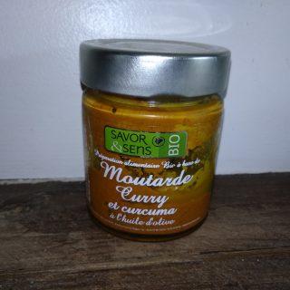 Mes oeufs mimosas à la moutarde Curry et curcuma