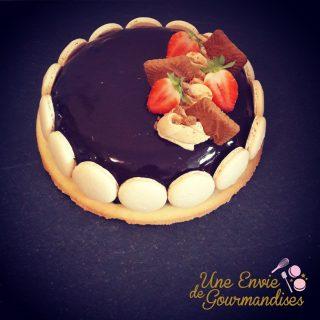 Recette glaçage miroir au chocolat sans lait concentré ni glucose