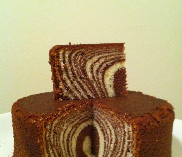 zebra cake
