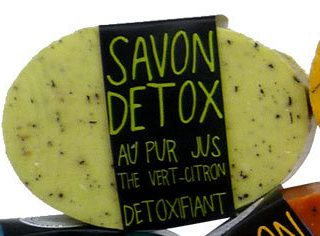 J'ai testé pour vous savon gommage detox