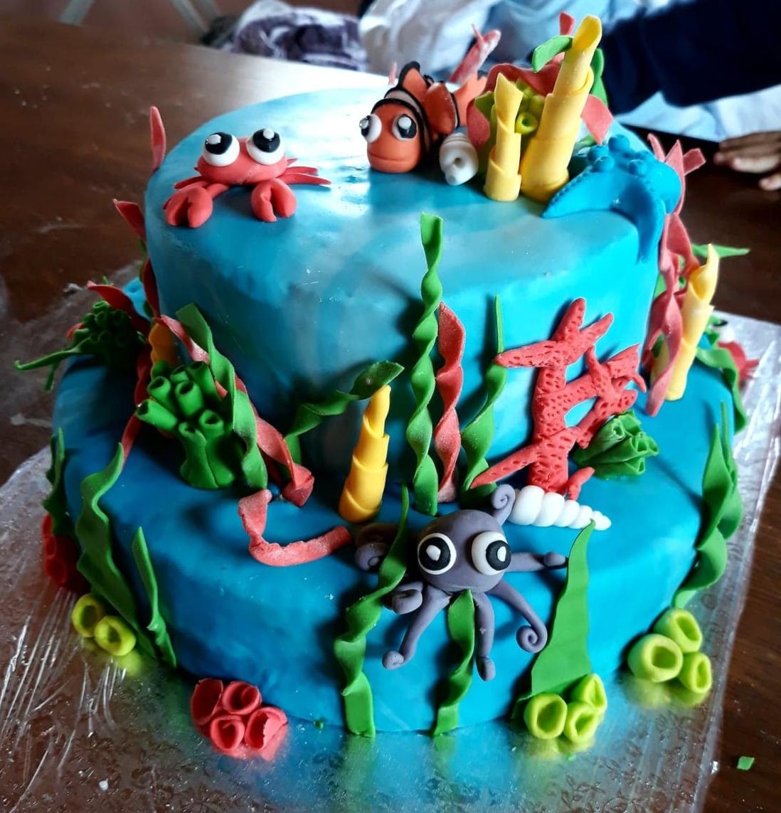 gâteau d'anniversaire 2 ans