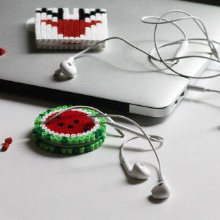 Porte écouteurs en perles Hama