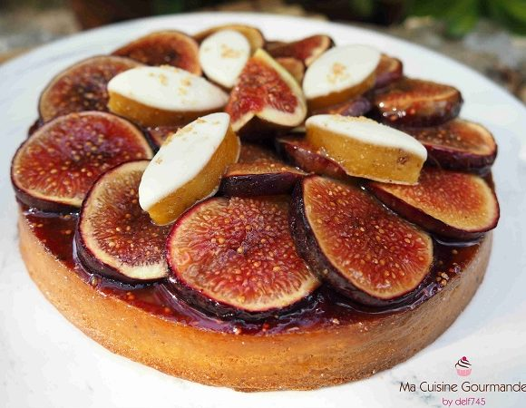 Tarte Figues Calisson et Speculoos