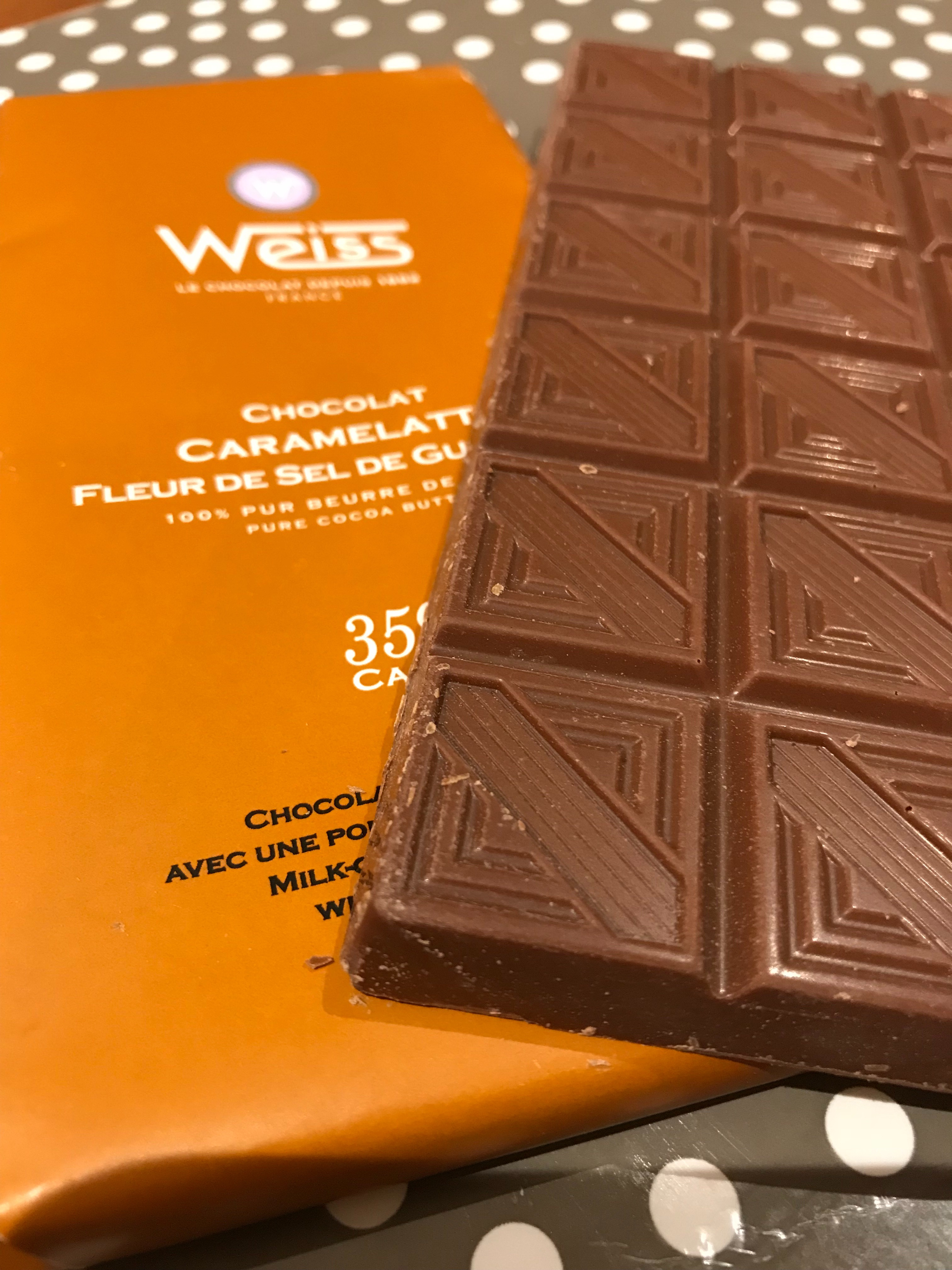 Le chocolat 🍫  Weiss 👍