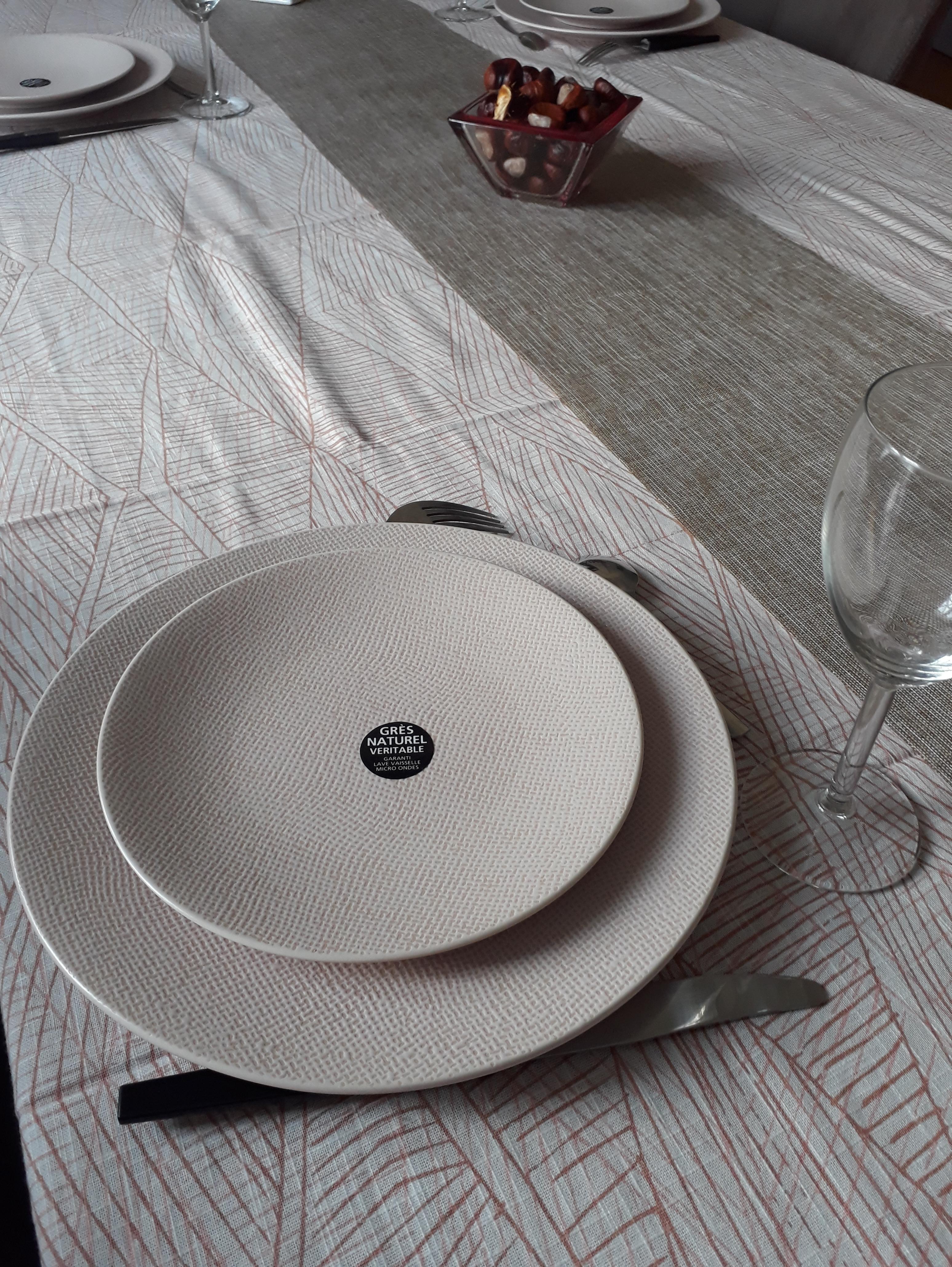 J'ai testé pour vous les assiettes plates Vezuvio vieux rose