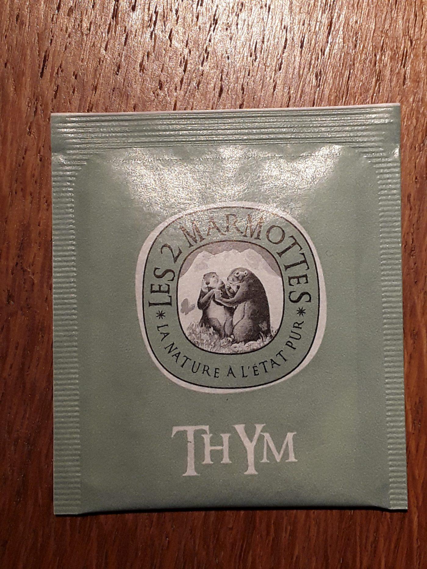 J'ai testé pour vous thym des 2 Marmottes.