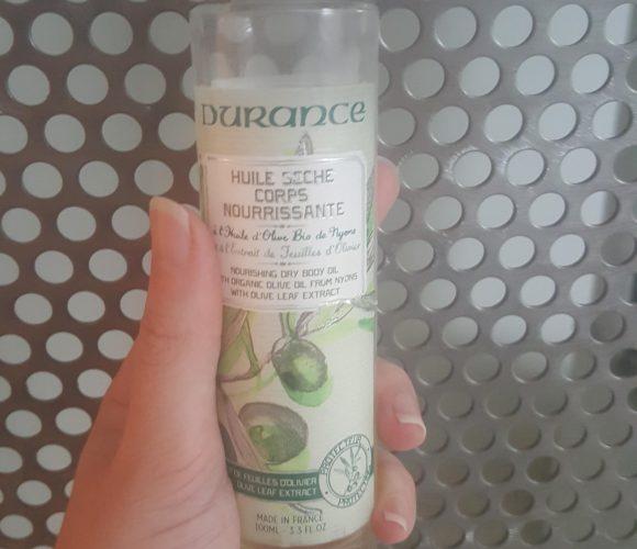 J'ai testé pour vous l'huile sèche corps nourrissante : huile d'olive bio & extrait de feuille d'olivier