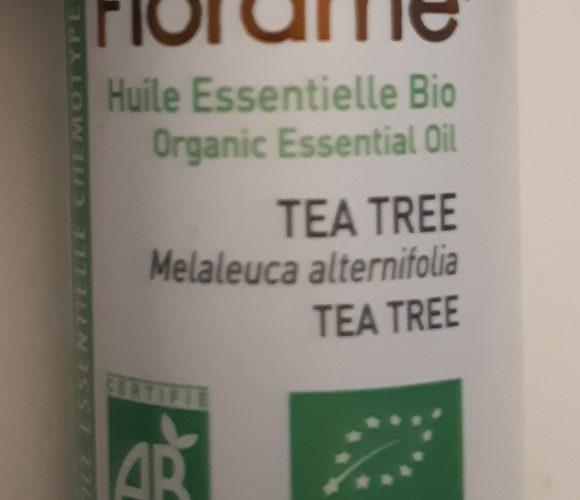 J'ai testé pour vous l huile essentielle Biologique Tea tree 10ml