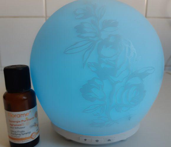 J'ai testé pour vous l'huile essentielle Synergie Purifiante aux agrumes 30ml de FLORAME