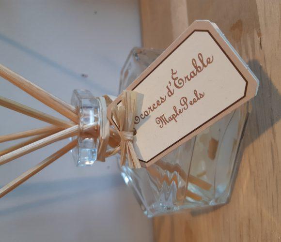 J'ai testé pour vous le bouquet parfumé Écorce d'érable de chez Durance