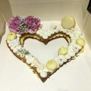 Recette du coeur façon number cake au citron