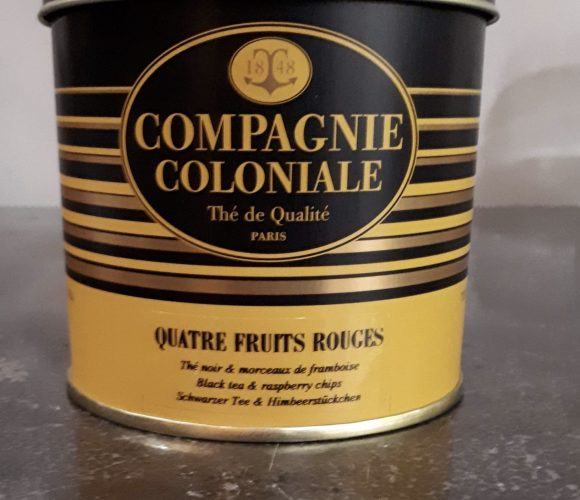 Le thé quatre fruits rouges compagnie coloniale