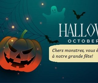 Grande fête d'Halloween!