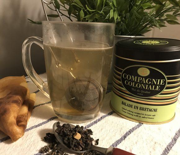 J'ai testé pour vous le thé vert Balade en Bretagne de la Compagnie Colon