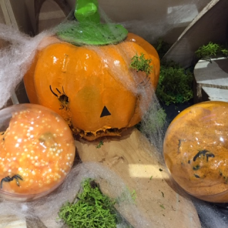 Mon Slime d'Halloween  ! (sans lessive ;) )