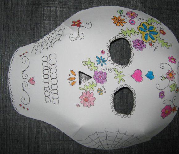 Masque d'haloween
