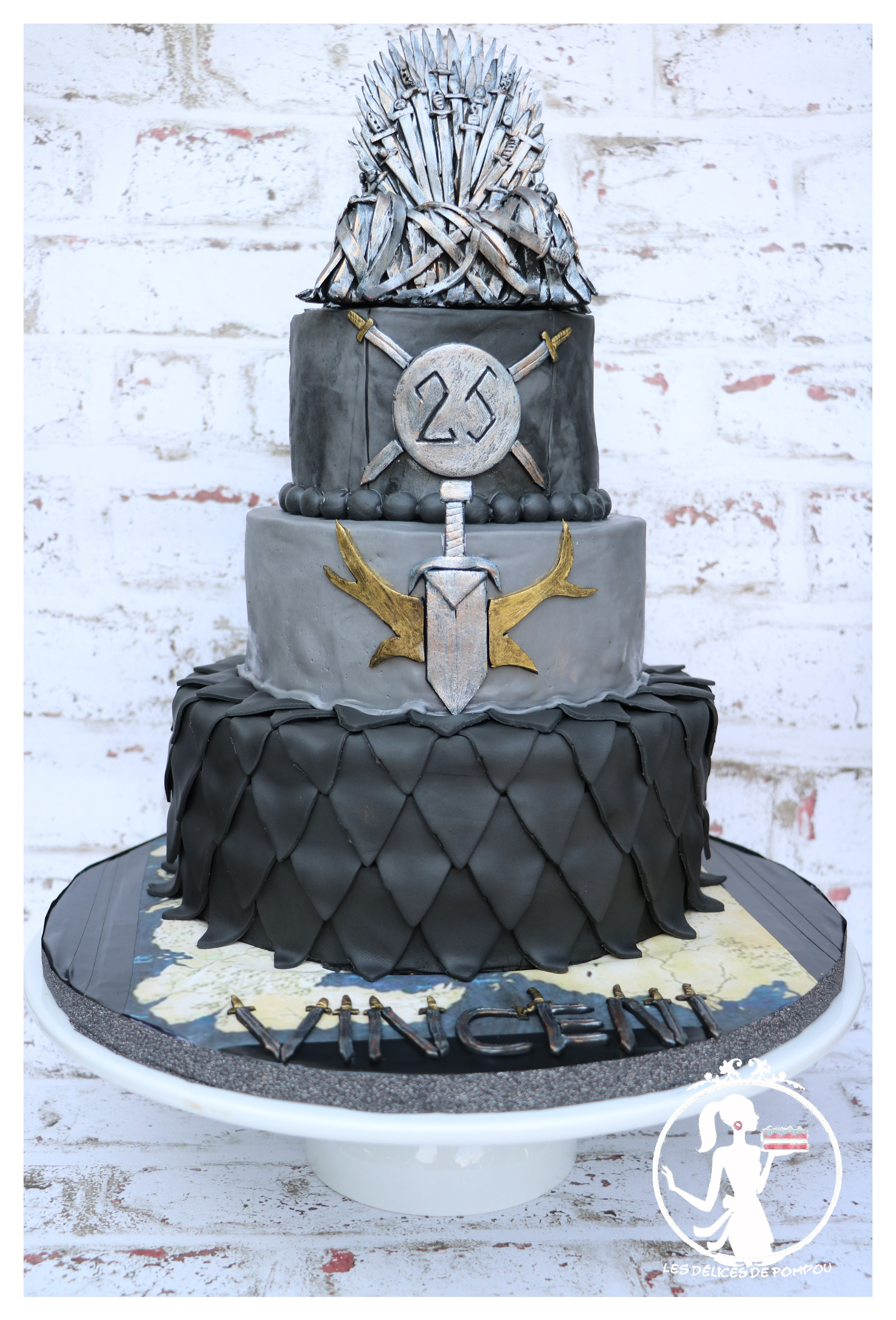 Gateau Game of throne