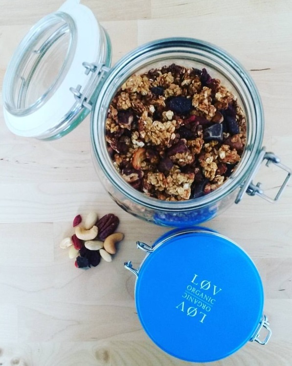 Ma recette de granola réalisée lors du Blog Z day du 13 octobre 2018