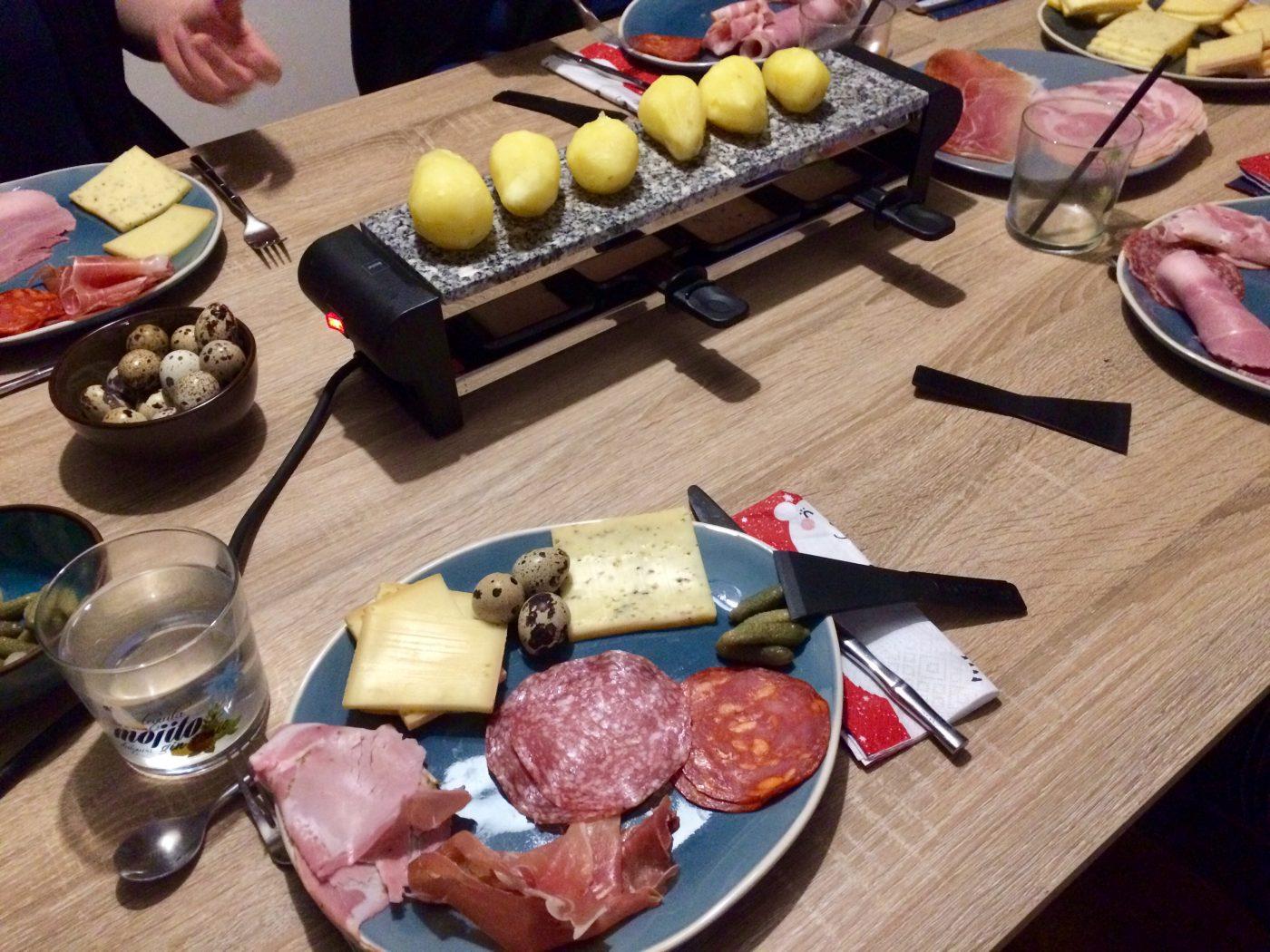 Appareil à Raclette avec pierre