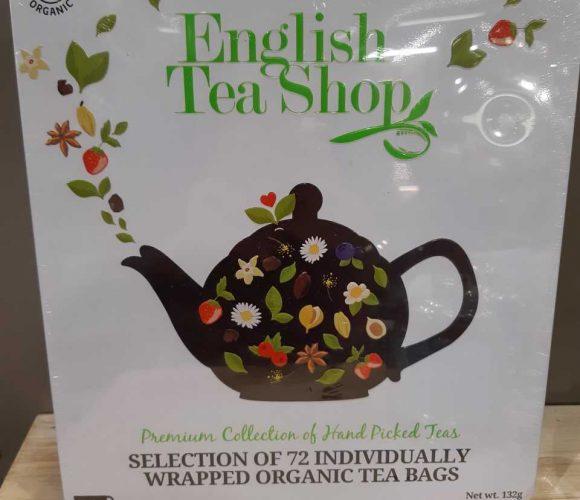 J'ai testé pour vous coffret thés et infusions English Shop