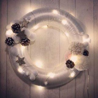 Ma couronne de Noël tout douce :)