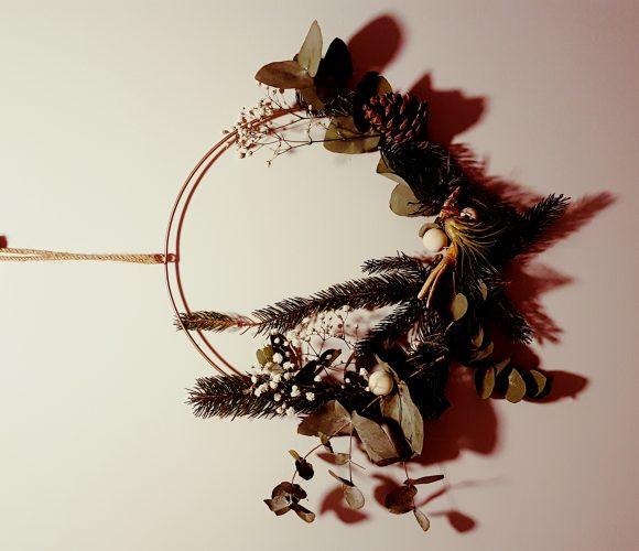 décoration végétale pour Noel