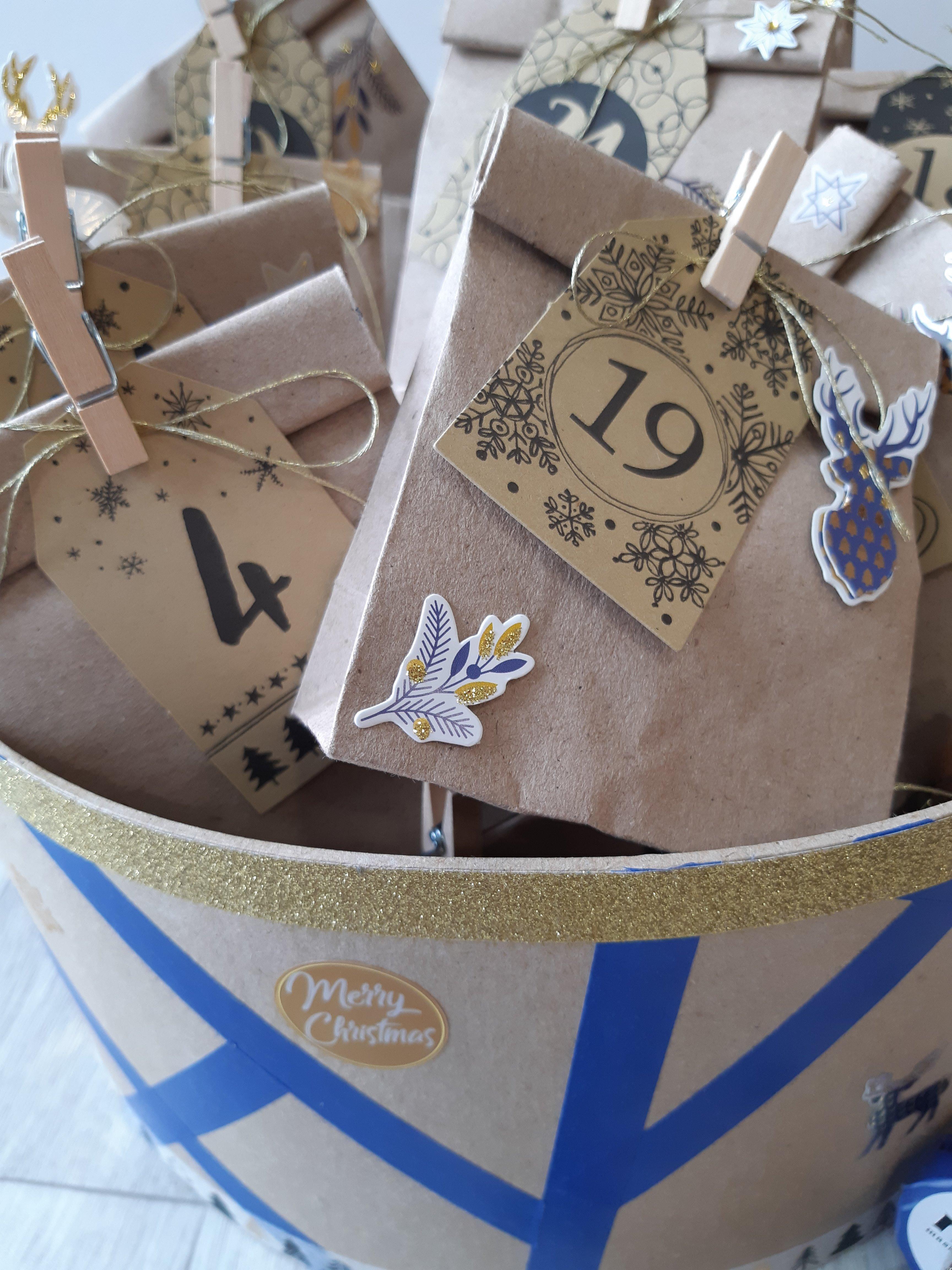 Pochettes calendrier in the Box