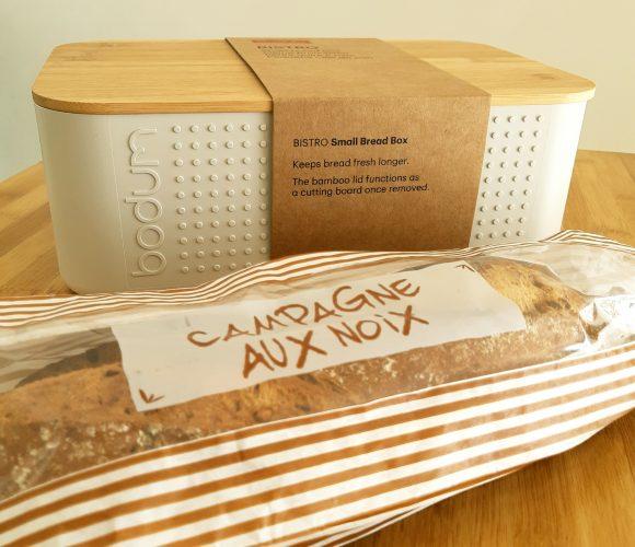 J'ai testé pour vous la petite boîte à pain Bistro Bodum