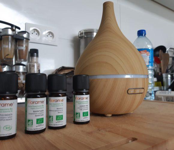 J'ai testé pour vous diffuseur huiles essentielles oleo bois poire