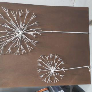 String art pissenlit