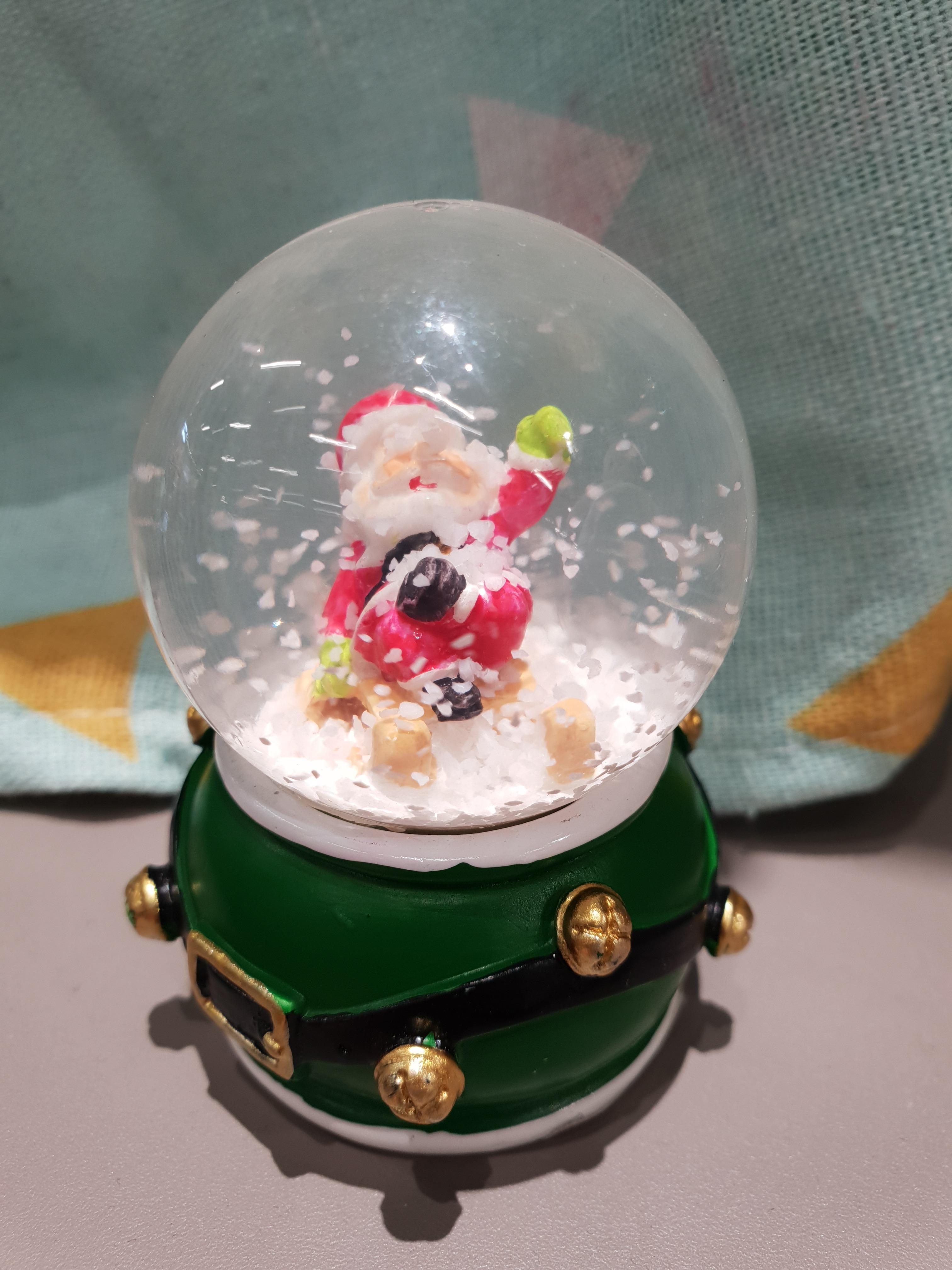 J'ai testé pour vous la mini boule de Noël