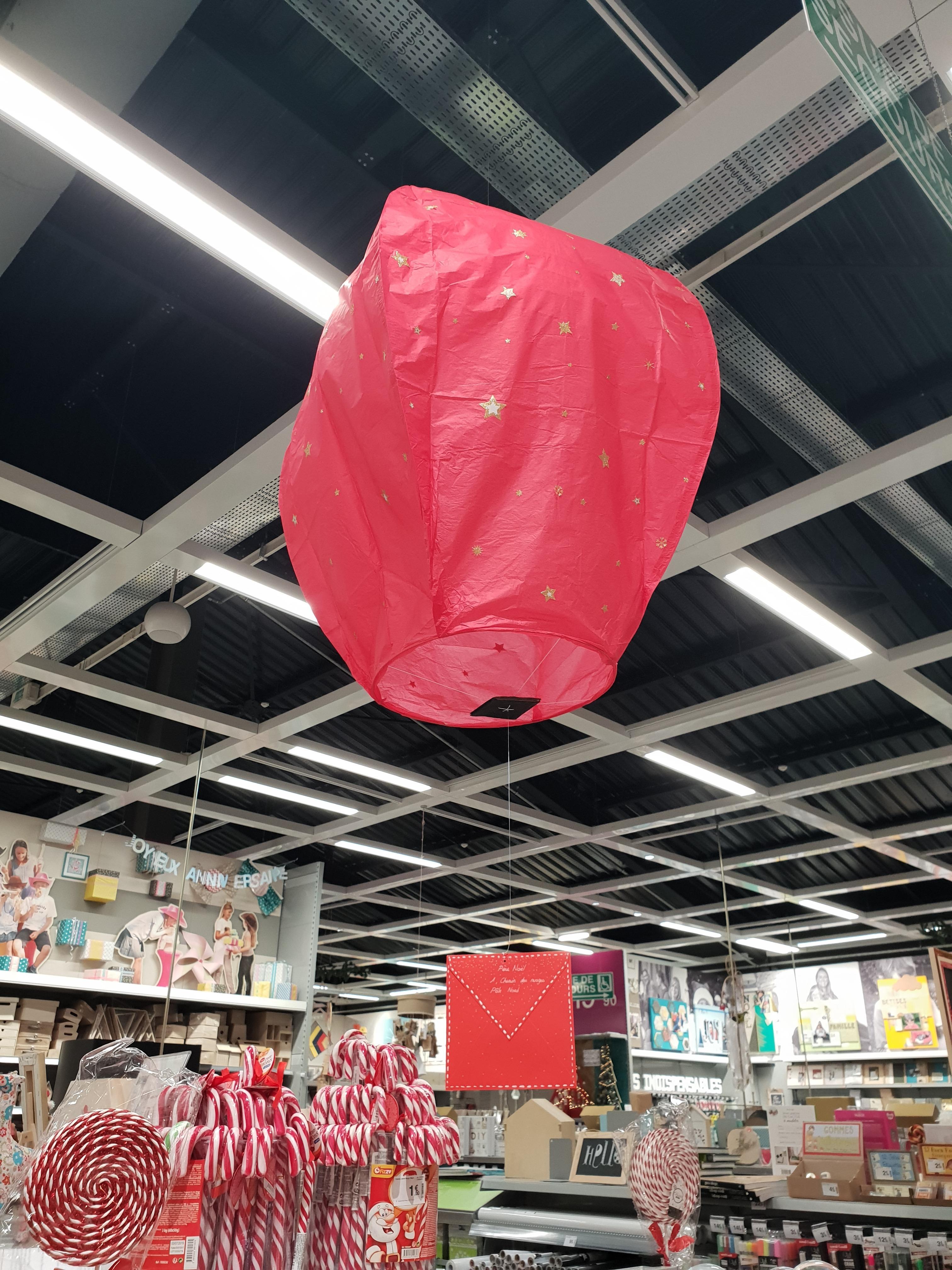 J'ai testé pour vous lanterne volante
