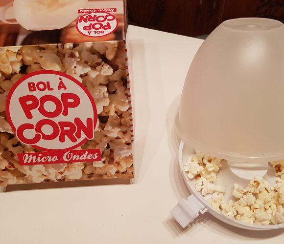 J'ai testé pour vous bol à pop corn