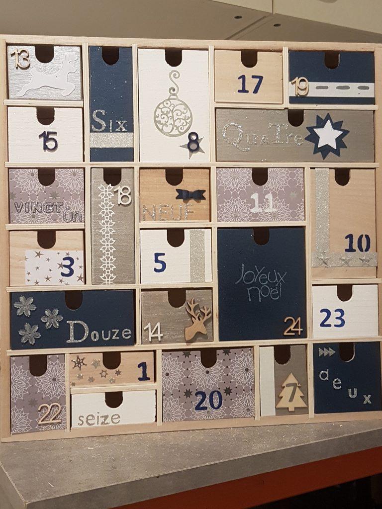 J 39 ai test pour vous calendrier en bois 24 tirroirs - Zodio chambourcy atelier cuisine ...