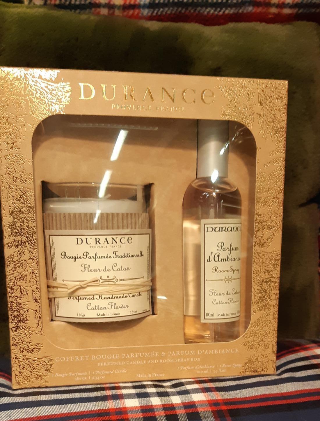 Coffret Durance Bougie & Parfum d'Ambiance
