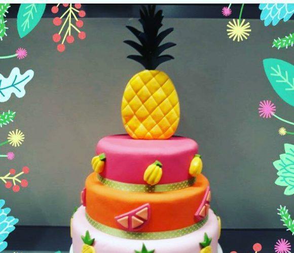 La ganache de recouvrement en cake design