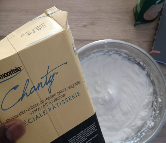 J'ai testé pour vous la préparation crème chantilly 1L