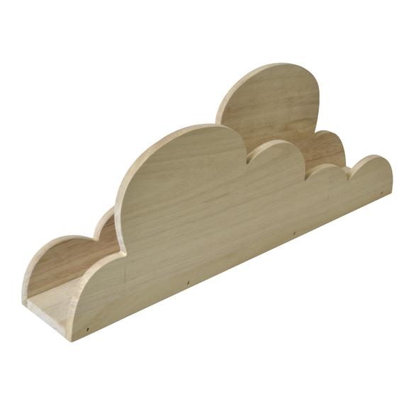 J'ai testé pour vous l'etagère nuage en bois brut Artemio