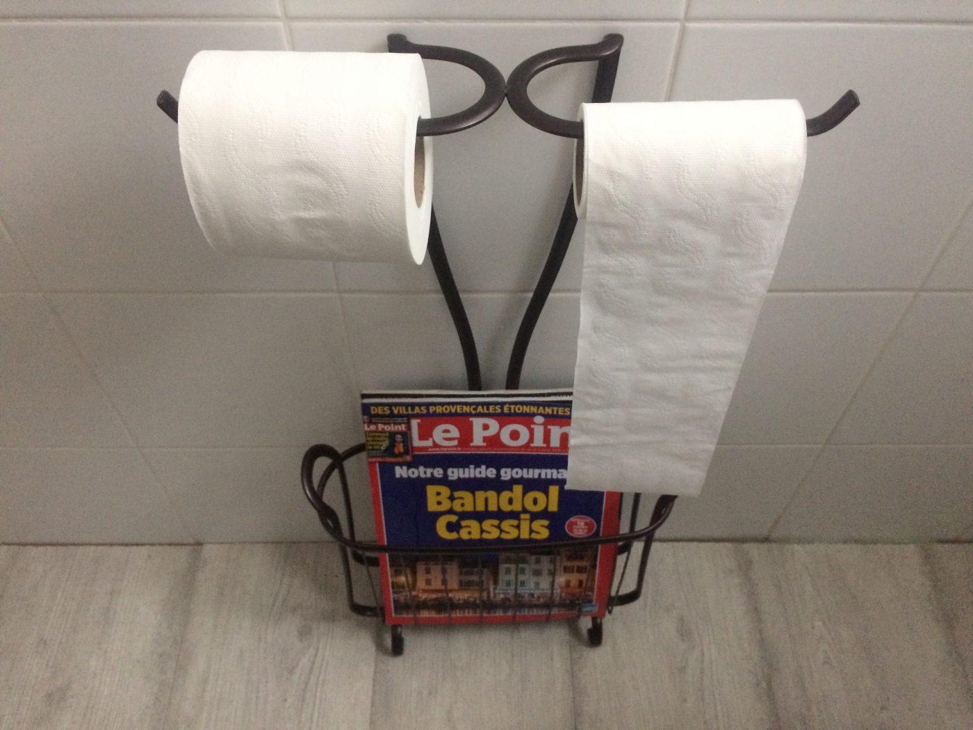 J'ai testé pour vous dérouleur double papier toilette