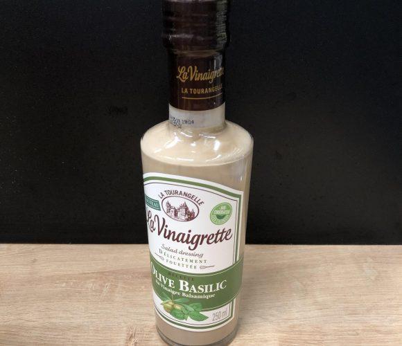 J'ai testé pour vous la Vinaigrette Olive Basilic