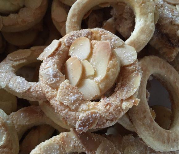 Les biscuits aux amandes de Noël