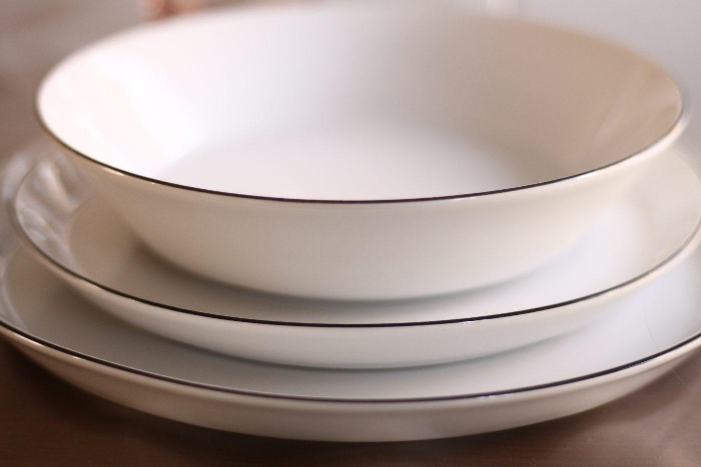 Nouvelle vaisselle