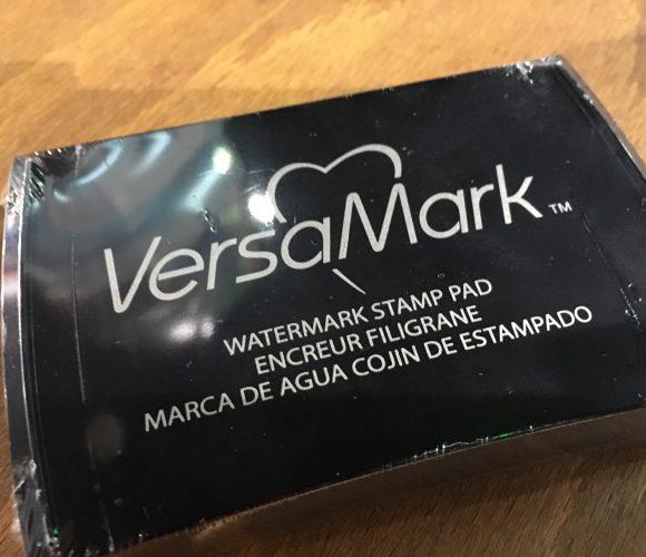 J'ai testé pour vous l'encre Versamark