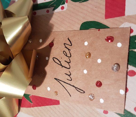 Préparation des cadeaux de noël