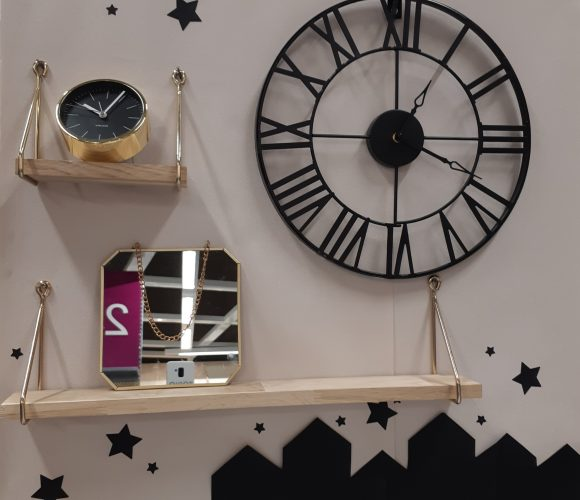 J'ai testé pour vous horloge métal vintage!