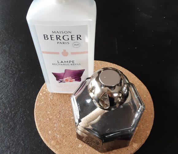 J'ai testé pour vous la recharge Lampe Berger «velours extase»