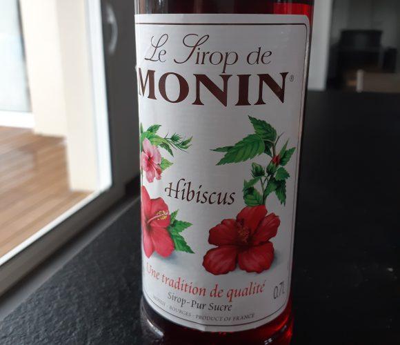 J'ai testé pour vous le sirop «hibiscus» Monin