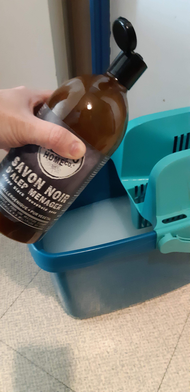 J'ai testé pour vous le savon noir d'alep liquide ménager
